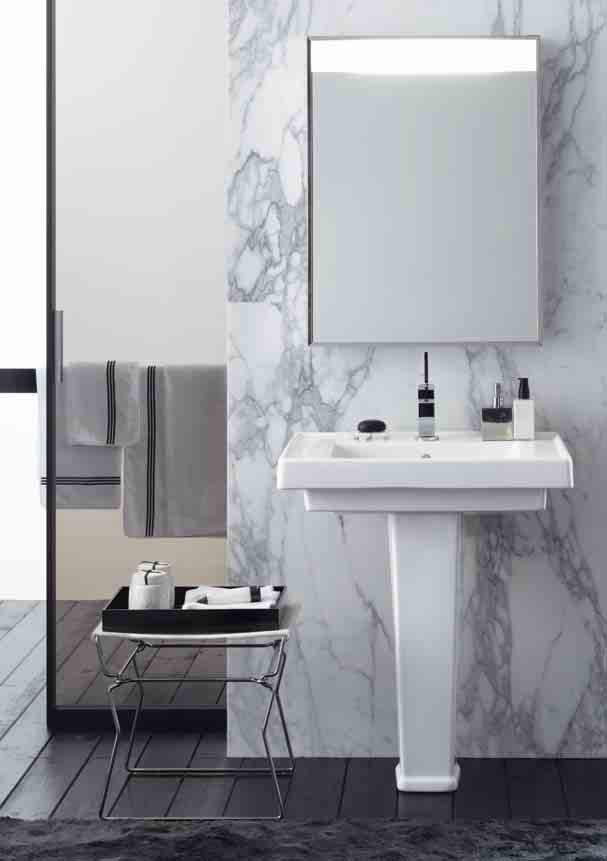 Novecento lavabo con colonna pozzi ginori - Lavabo con colonna ...