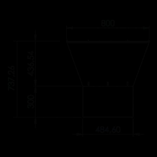 Dimensioni barbecue Clementi Gringo