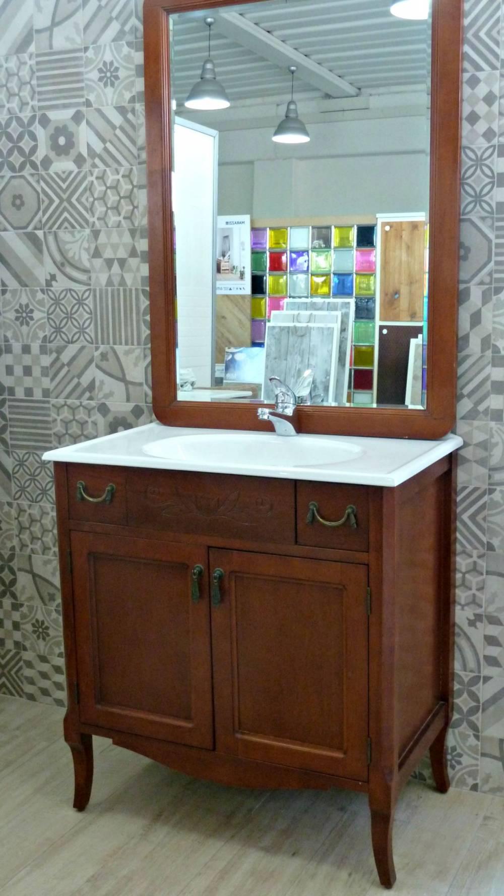 Mobile da bagno arte povera - Mobili bagno angolari ...
